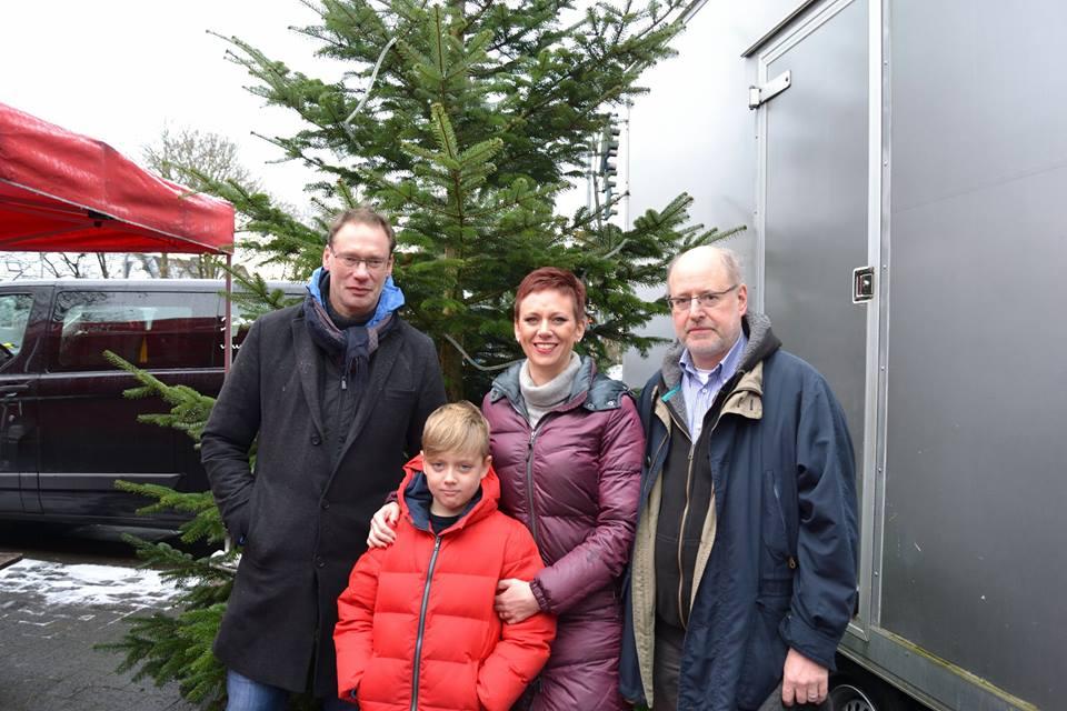 Auch in diesem Jahr: Ostheim hat einen Weihnachtsbaum!