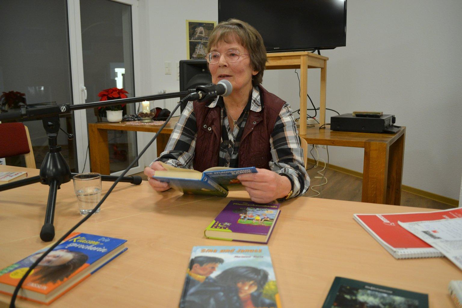 Lesung bei der Bürgervereinigung